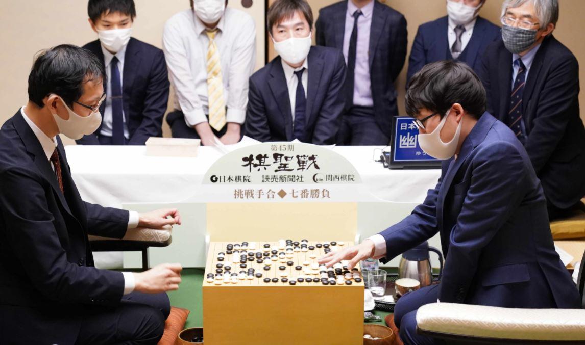 囲碁 棋聖 戦 棋譜 速報